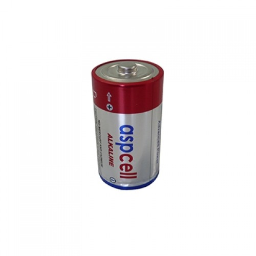 ASPCell Silindirik Tip Alkali Manganez Pil (LR20)